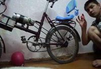 Самодельный электро велосипед. homemade electric bike