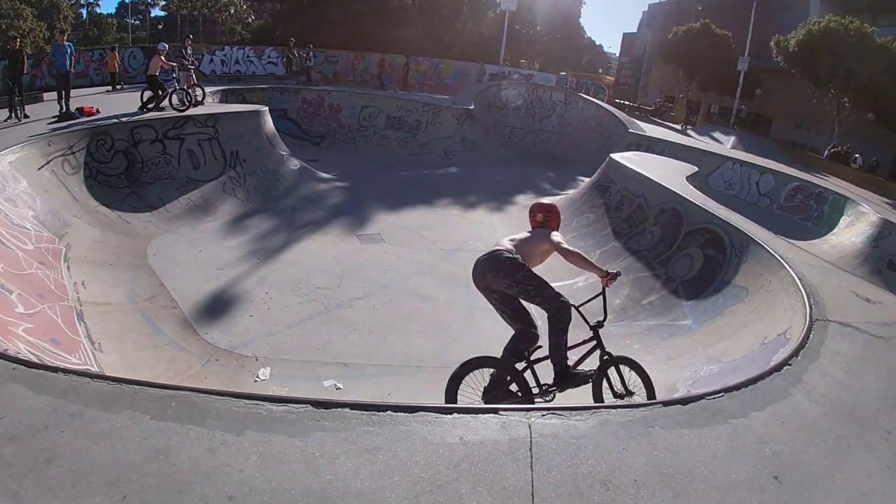 Скейт Парк в Малаге, для BMX, Go Pro7.Катаюсь  в скейт парке #Fuengirola #Spain и снимаю на GO PRO 7
