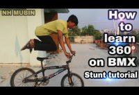 ✔How to learn 360° on BMX II Stunt tutorial II NH MUBIN