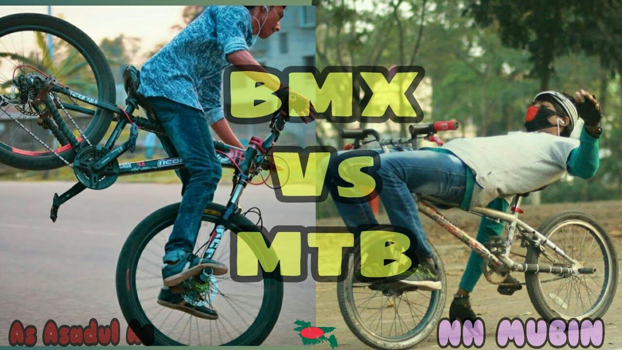 🚵BMX Vs MTB - Full Stunt Video II NH Mubin/As Asadul As
