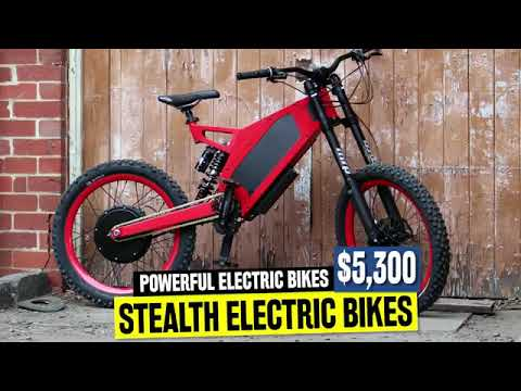 10 Powerful Electric Bicycles Available in 2019