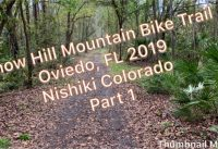 Snow Hill Mountain Bike Trail in Oviedo, Florida with Nishiki Colorado (Muddy)
