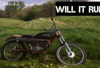 1971 Rat Bike, Will It Run After 50 years? | Rat Rod Motorcycle