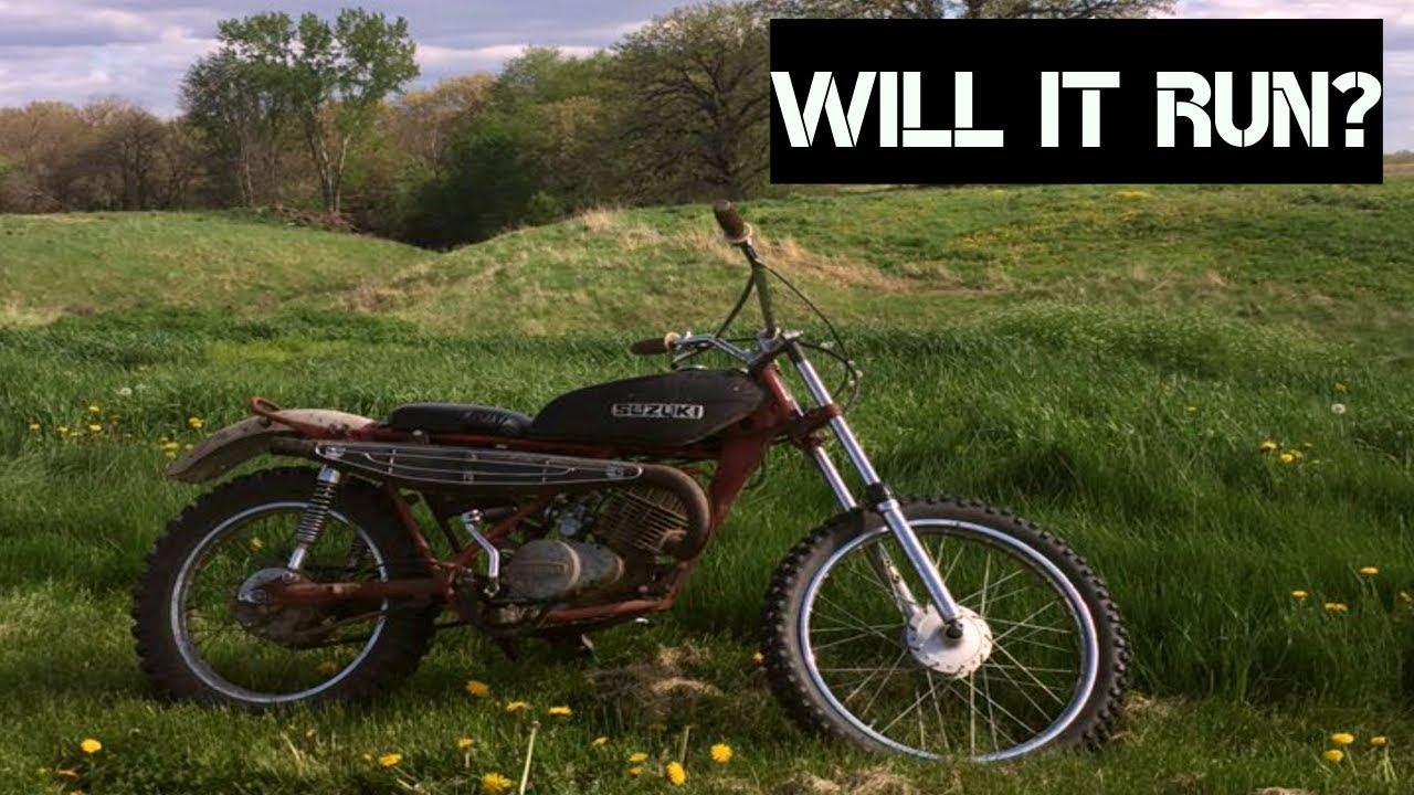 1971 Rat Bike, Will It Run After 50 years?   Rat Rod Motorcycle