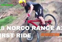 1st Ride on the 2018 Norco Range Super Enduro Mountain Bike