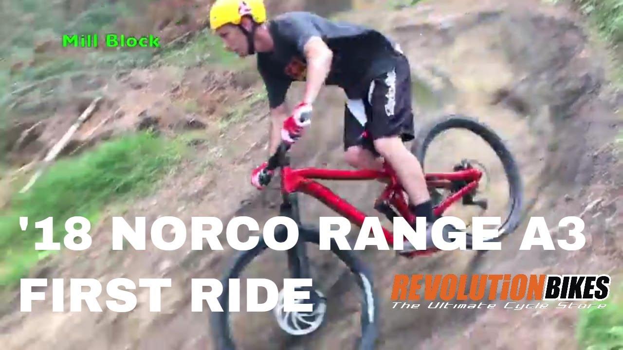 1st Ride on the 2018 Norco Range Super Enduro Mountain Bike