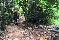 2014-01Jan-19 Bukit Timah Mountain Bike Trail. Singapore Unicycle.