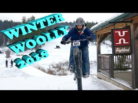 2018 Winter Woolly! | Highland Mountain Bike Park | Northfield, New Hampshire