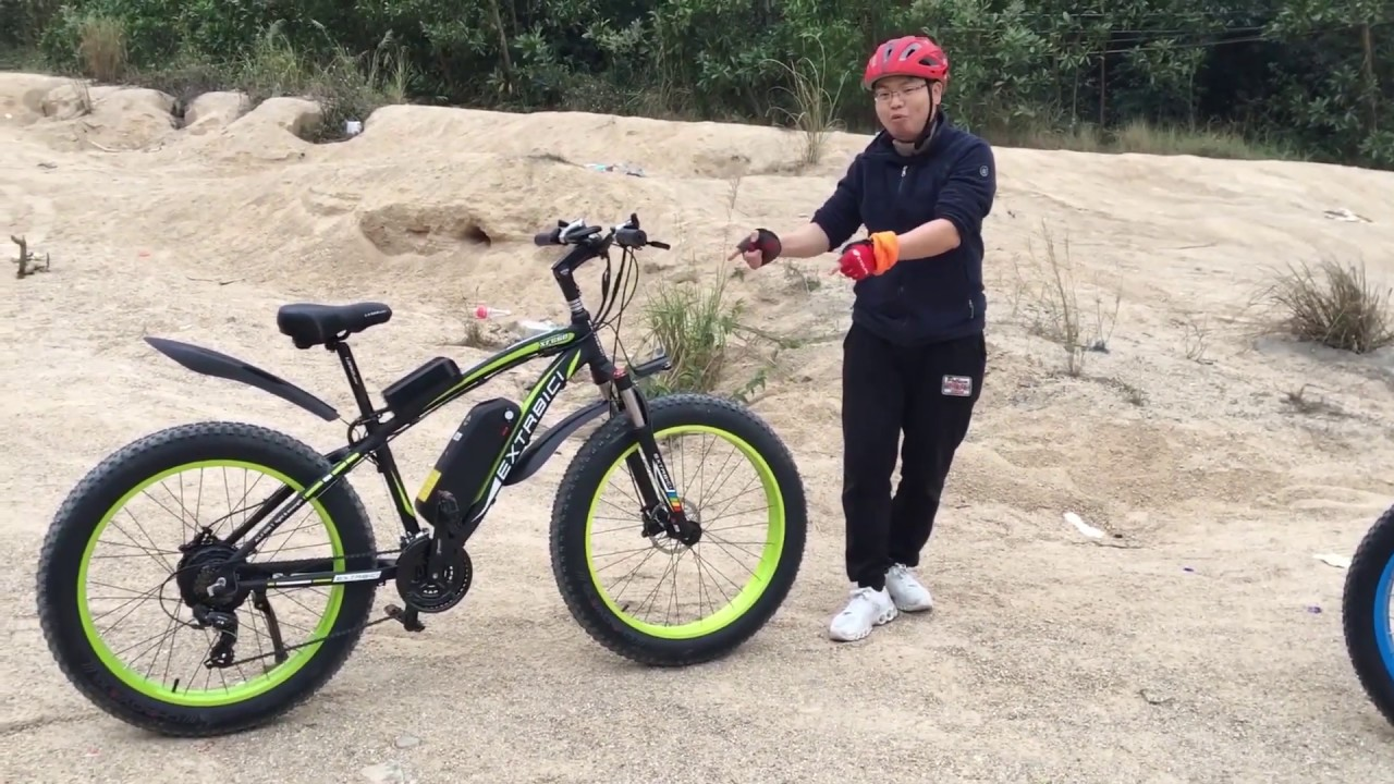 2019 Cyrusher Sports XF660 500Watt and 1000Watt Fat Tire Electric Bike Sand and Off Road Reviews