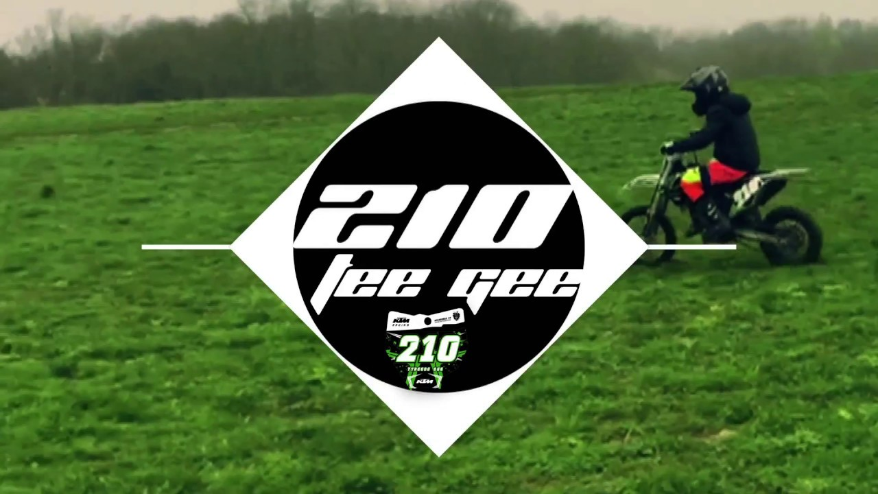 210TEEGEE - NEW INTRO !!! BIKES OUT AGAIN & RIDDING MY TRAIL (2017KTM SX 65)[EP29]