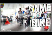 'GAME OF BIKE' X1 DE BMX NO POSTO DE GASOLINA!