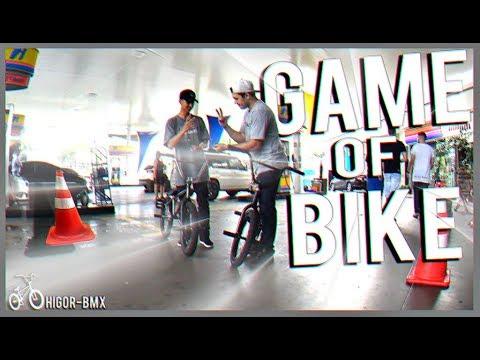 'GAME OF BIKE' X1 DE BMX NO POSTO DE GASOLINA!