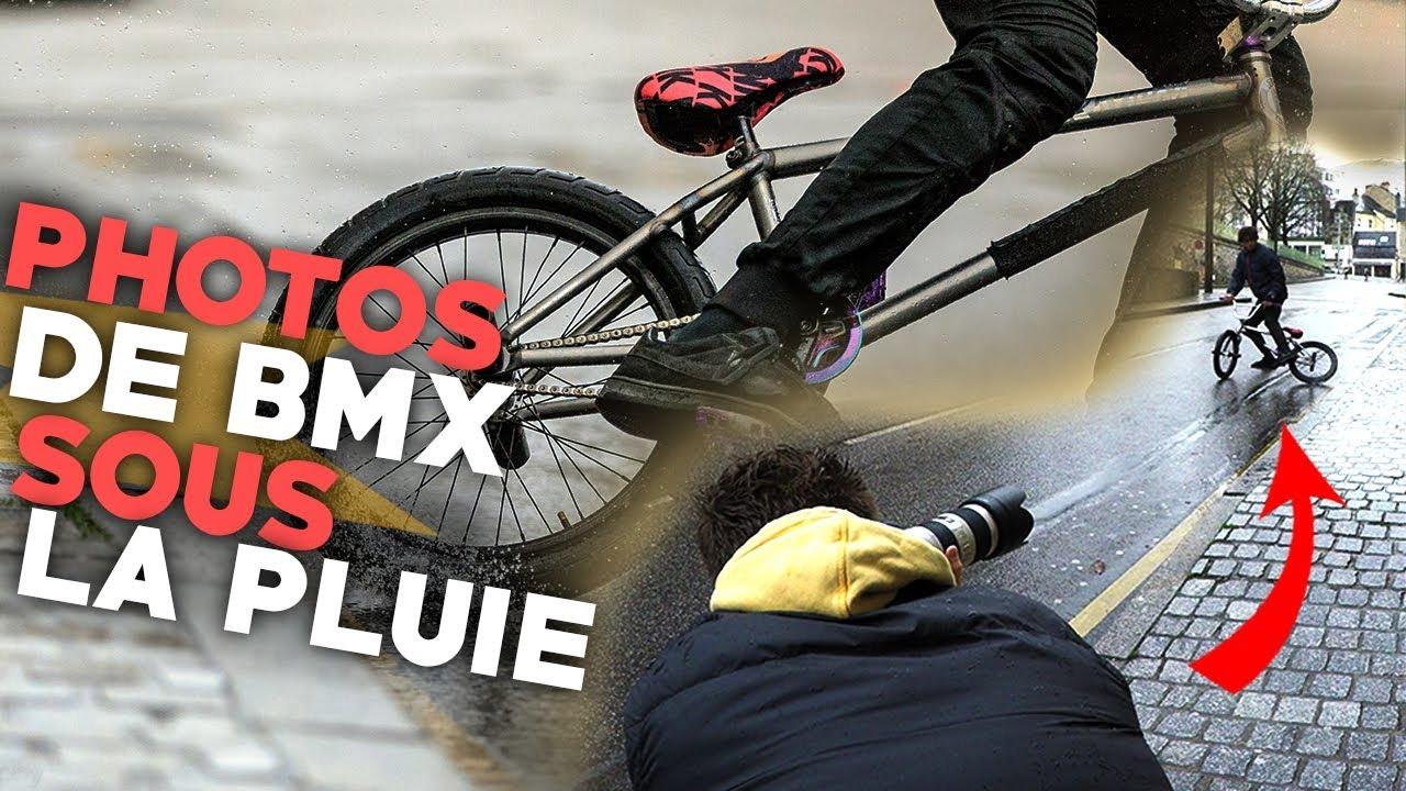 [4K] SESSION PHOTOS DE BMX SOUS LA PLUIE AVEC UN PHOTOGRAPHE PRO !