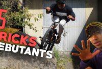 5 TRICKS POUR COMMENCER LE BMX ! + TUTO EXPRESS DEBUTANT