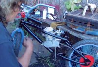 80cc Motorized BMX Bike pt.5, Paint and Assembling