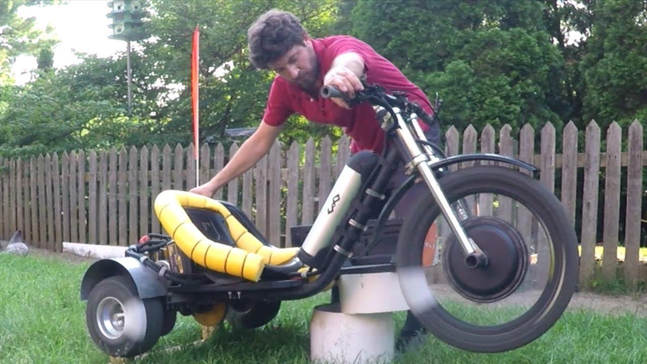 All Wheel Drive Electric Drift Trike 2,750 watts