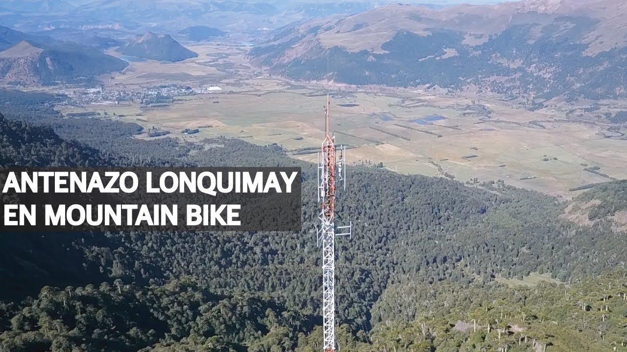 Antenazo Lonquimay en Mountain Bike, tan cerca y tan lejos!