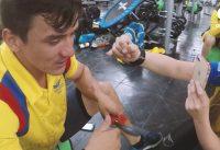 Así entrena la selección Colombia de BMX - Carlos Oquendo