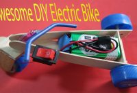 Awesome DIY bike--How to make an Electric Bike EASY--Motorized bicycle