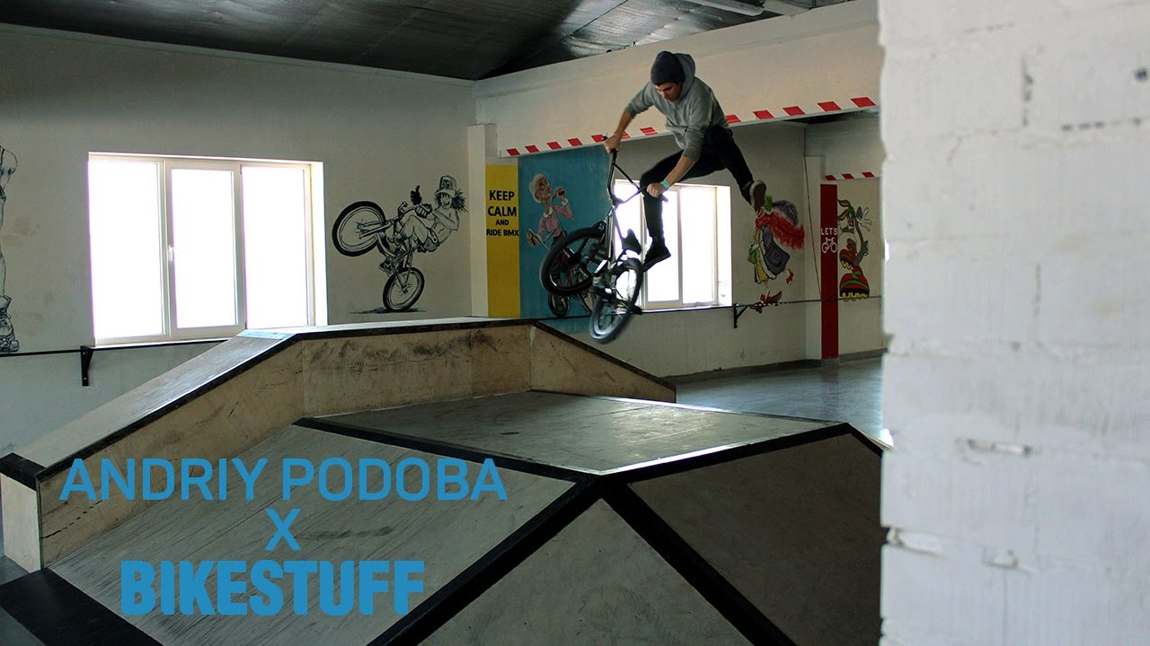 BMX Andriy Podoba welcome to BIKESTUFF park edit