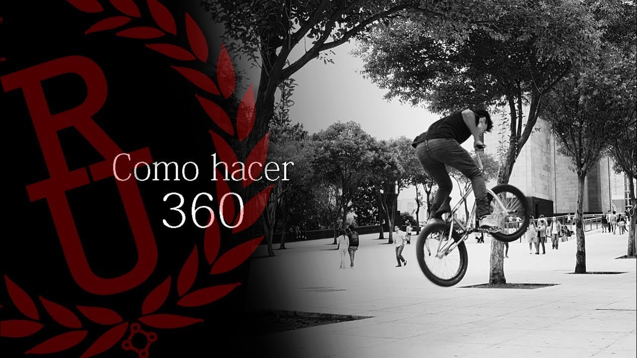 BMX - How to 360 | Como hacer 360 BMX