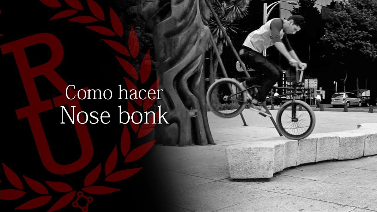 BMX - How to Nose bonk   Como hacer Nose bonk BMX