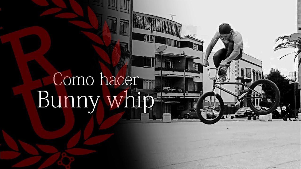 BMX - How to tailwhip (Bunny whip) | Como hacer bunny hop tailwhip