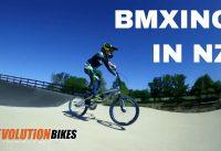 BMX Juniors Race Training 2018 at Havelock North BMX Track | Revolution Bikes NZ
