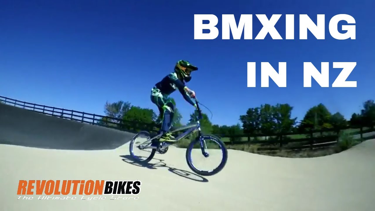 BMX Juniors Race Training 2018 at Havelock North BMX Track | Revolution Bikes NZ