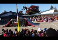 BMX Pros at Eisenhower Elementary School!
