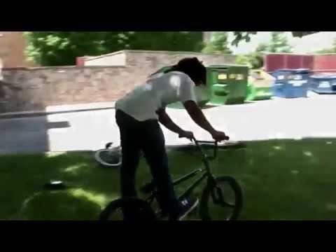BMX STREET BRAD SIMMS TOOTH 360 BMX TRICK /bmx tricks