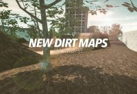 BMX Streets: PIPE - NEW DIRT MAPS!