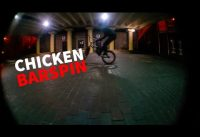 BMX TRICKS | Chicken barspin