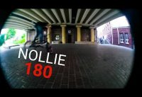 BMX TRICKS | Nollie 180