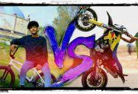 BMX VS BIKE (علي ادم VS رحمان بروز)