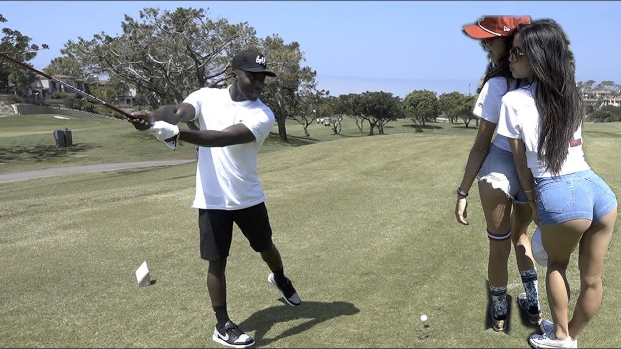 BMX VS GOLF WITH NIGEL SYLVESTER
