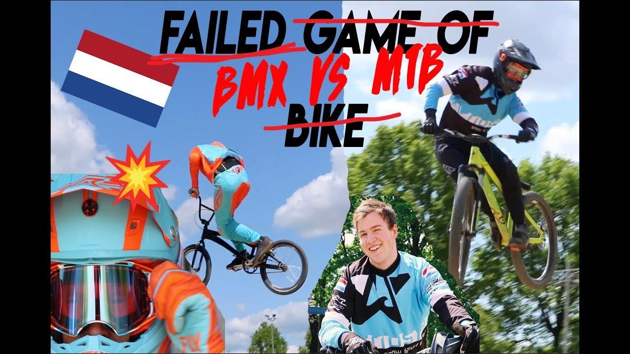 BMX Vs MTB Local Track session w/ Dj Slots & Tristan botteram