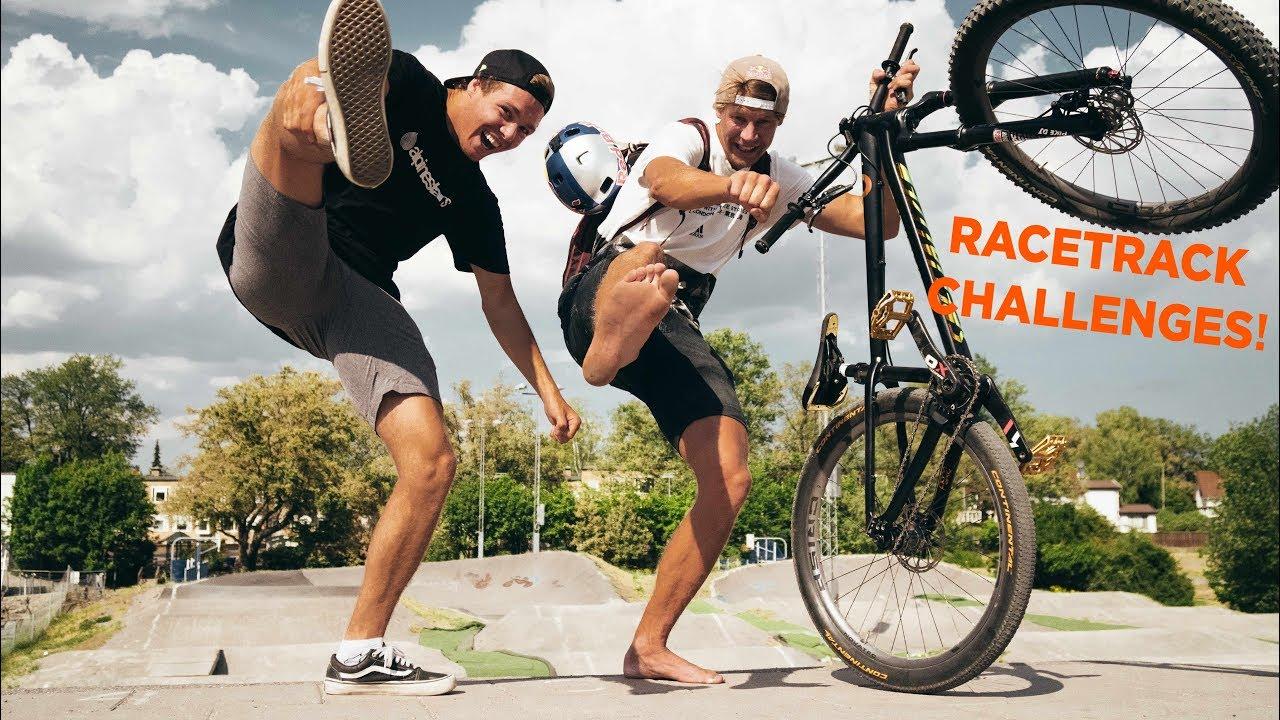 BMX racetrack CHALLENGES with MARTIN SÖDERSTRÖM!! EP:12