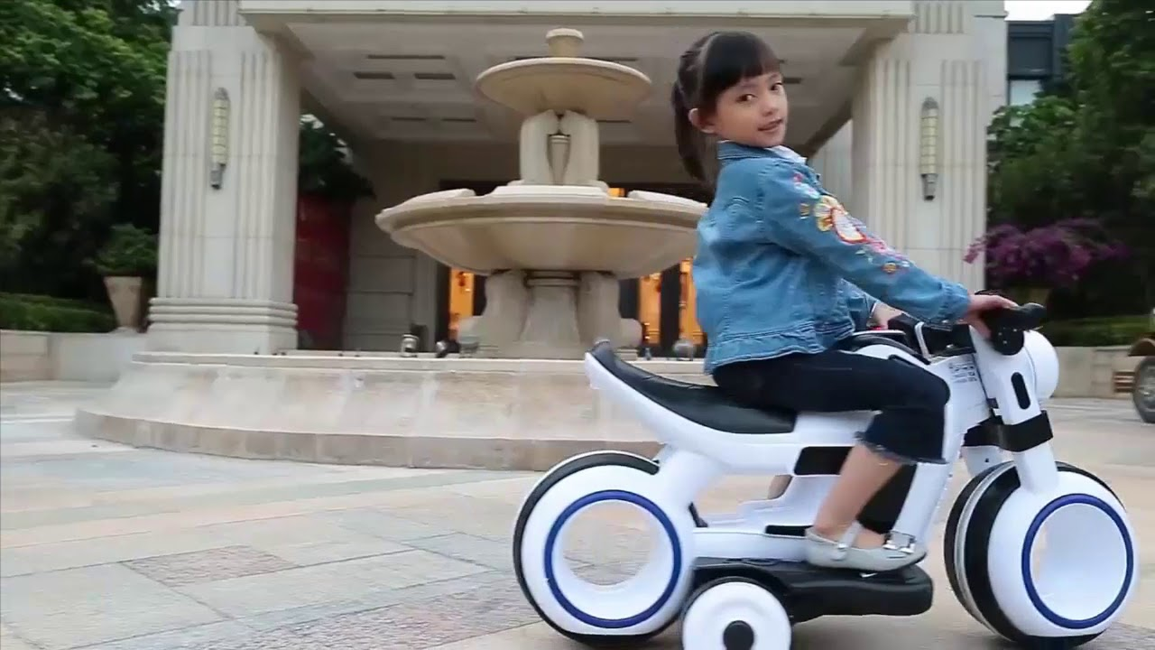 Bağlama № 313 Детский Электрический  мотоцикл Electric  motorcycle large tricycle