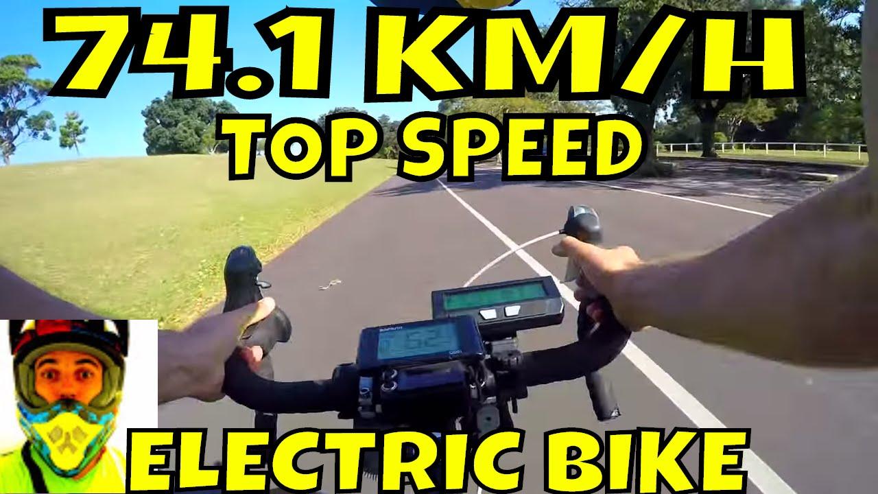 Bafang BBSHD 1000w mid-drive • 74.1km/h top speed on flat (46T) • Electric Bike 48v BBS02 8fun motor
