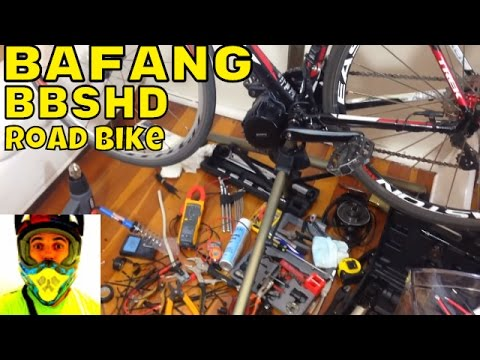 Bafang BBSHD 1000w mid-drive • electrical done, ready to go! • Electric Bike 48v BBS02 8fun motor
