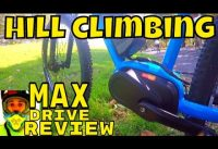 Bafang Max Drive REVIEW (video4) Hill climbing tests • 250w Electric MTB • www.emax-ebikes.com.au