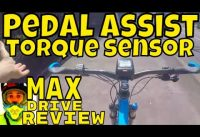 Bafang Max Drive REVIEW (video6) Torque sensor / PAS • 250w Electric MTB • www.emax-ebikes.com.au