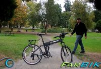 Baja Electric Folding Mountain Bike by X-treme E-Bike Review