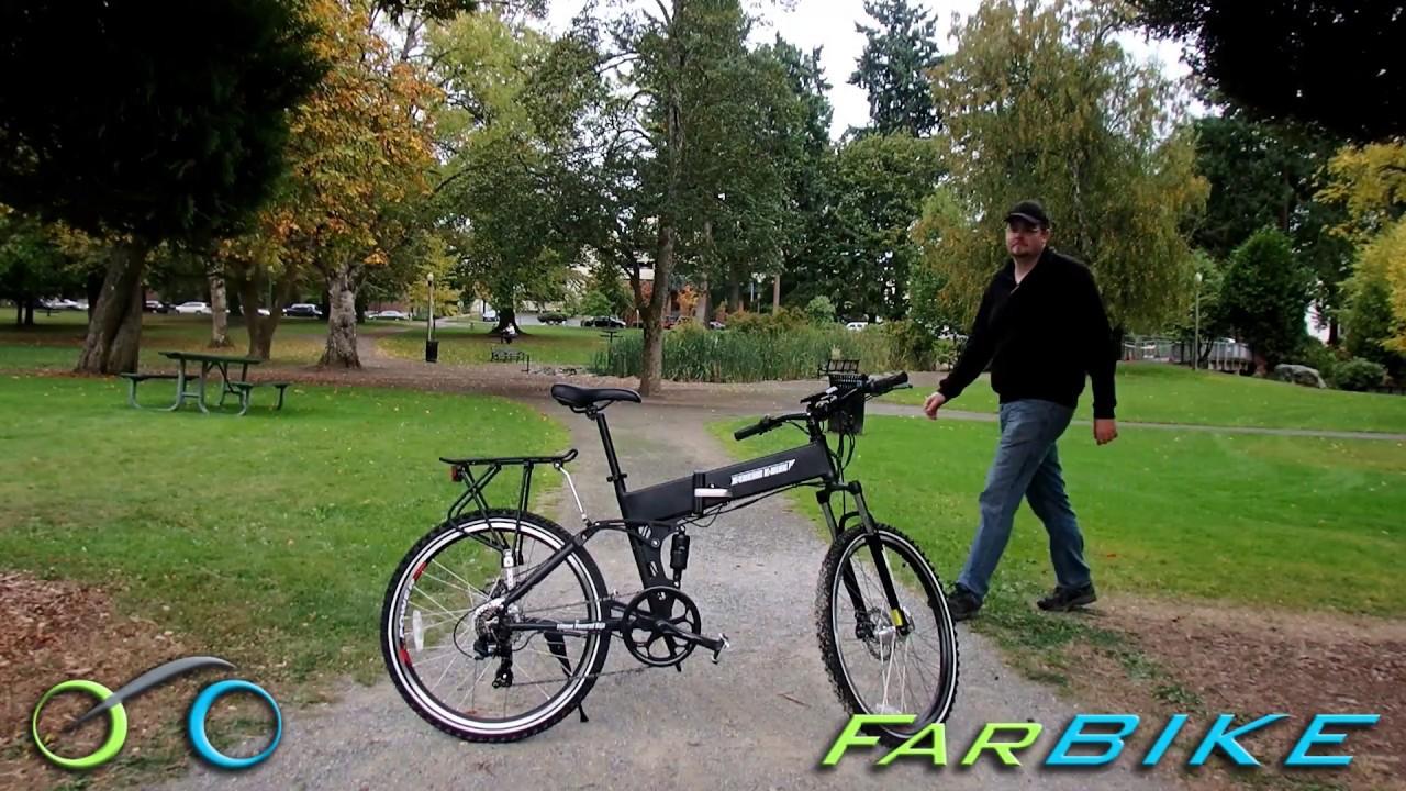 Baja Electric Folding Mountain Bike by X-treme E-Bike Review
