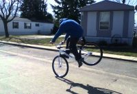 Big ripper bmx footjam