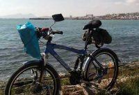 Bike, Converting a mountain bike for the road. Велосипед, переделка  горный- комфортный дорожный.