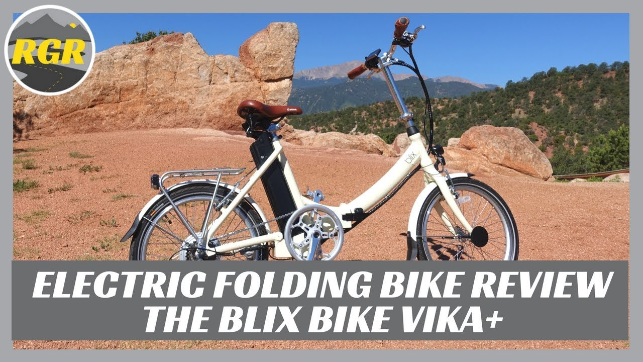 Blix Vika+ Electric Folding Bike | Product Review | Lithium Powered Electric Bike/Scooter