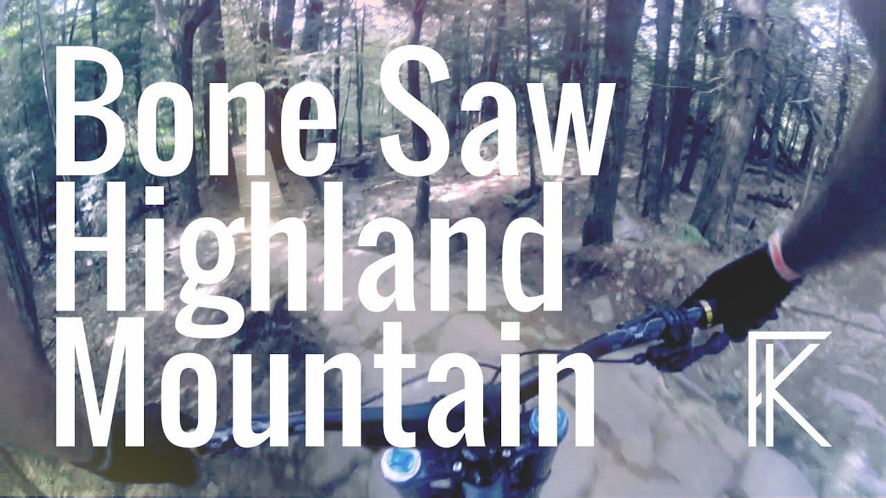Bonesaw at Highland Mountain Bike   Phil Kmetz   GoPro