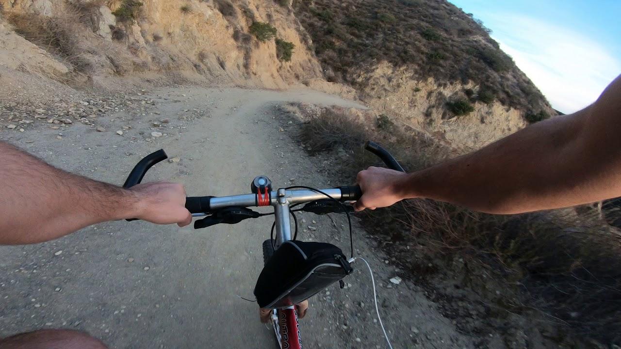Brand Park Motorway Mountain Biking - Gopro Hero 6 Black - 4K - Glendale CA